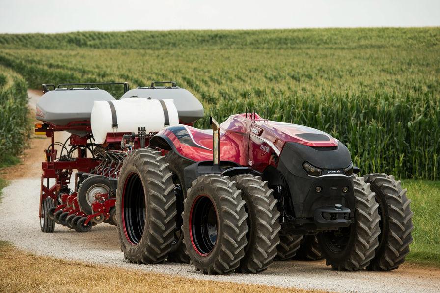 L 39 industrie c 39 est fou un tracteur autonome command for Job depuis chez soi