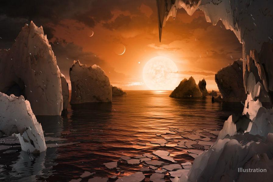 Google célèbre la découverte en doodle — Découverte d'exoplanètes