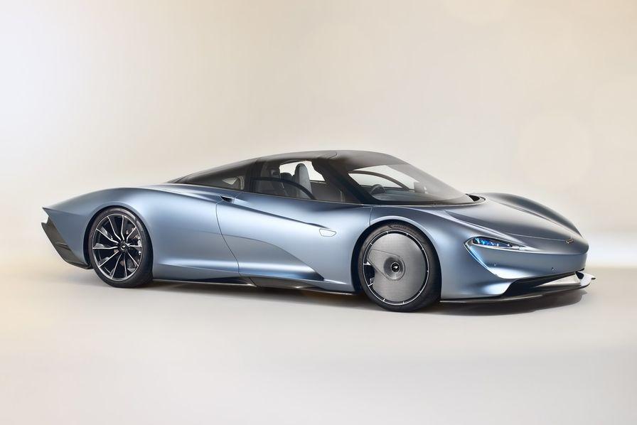 [En images] McLaren présente sa supercar Speedtail, les Etats-Unis n'en veulent pas