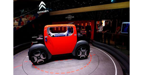 [En images] Citroën lance Ami, une voiturette électrique et sans permis à petit prix - L'Usine Auto
