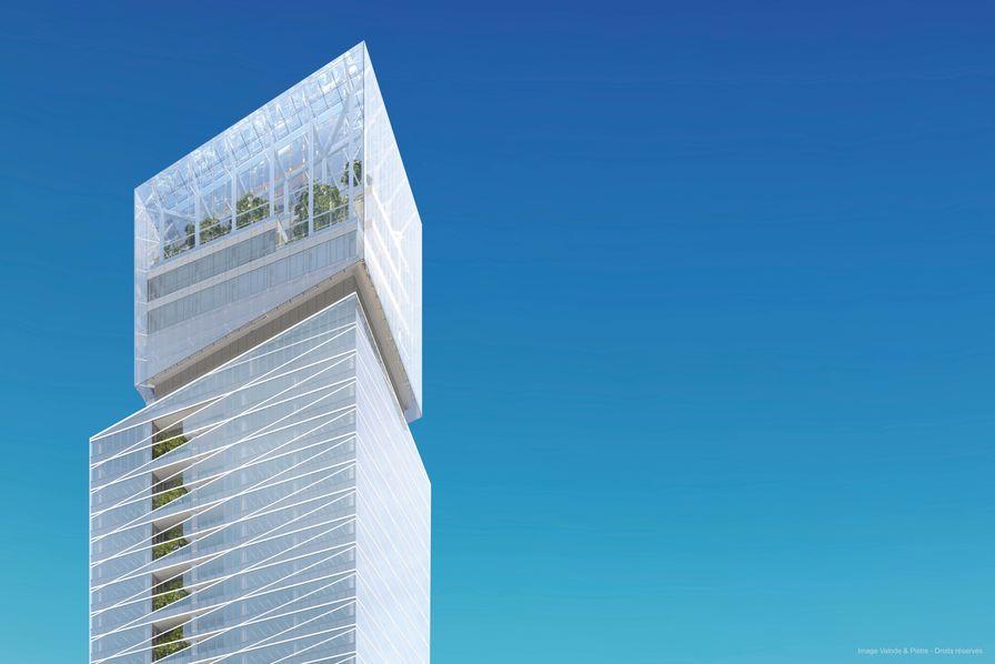Populaire Saint-Gobain fait construire sa tour à La Défense - BTP - Construction LU82