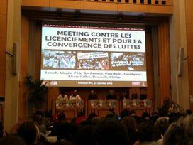 Réunion syndicats Sciences Politiques
