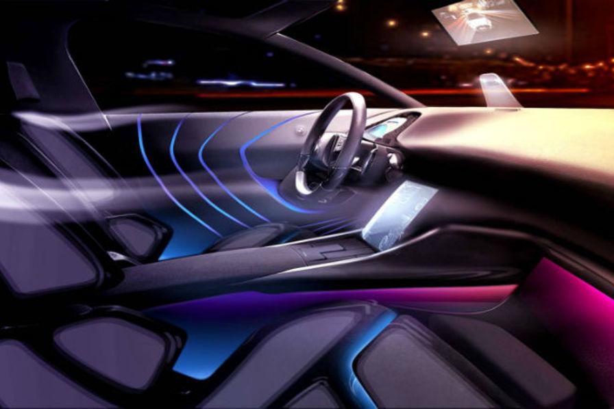 dans la voiture de demain psa veut mettre tous vos sens en moi technos et innovations. Black Bedroom Furniture Sets. Home Design Ideas