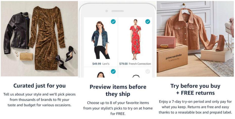 830858069b19 Amazon lance un service de livraison de box de vêtements aux Etats-Unis