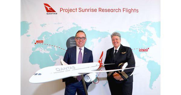 Qantas va effectuer trois vols expérimentaux de 19 heures non-stop avec des Boeing 787 Dreamliner