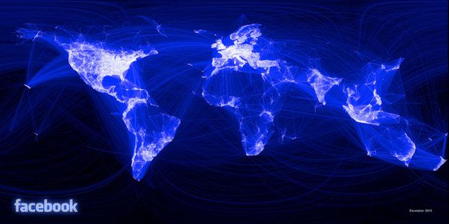 Le monde selon Facebook.