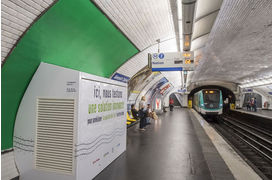"""IP'AIR"" de Suez va purifier l'air des stations du métro parisien"
