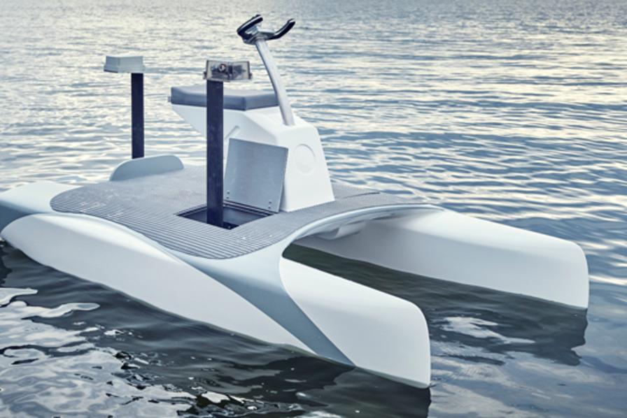 Video L Overboat Le Bateau Qui Vole A La Surface De L Eau L Usine Energie
