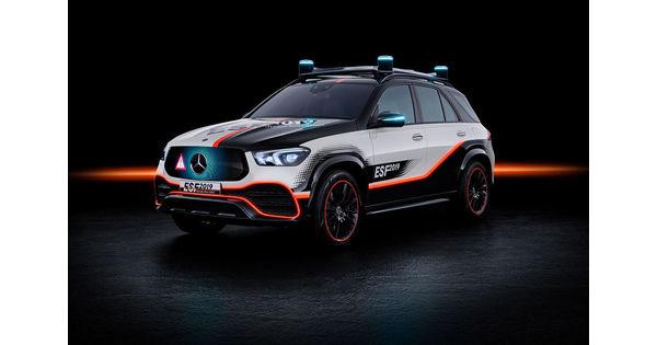 [Vidéo] Airbag XXL, alertes lumineuses, hologrammes... Les innovations de Mercedes pour la sécurité routière