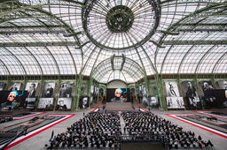 "[En images] ""Karl For Ever"", l'hommage rendu à Karl Lagerfeld au Grand Palais"