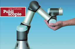 Publiscopie : Cobot6axes, l'expertise française en cobotique