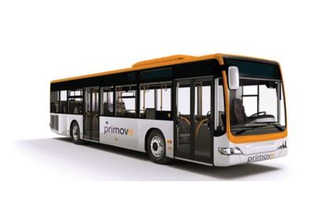 Bombardier recharge les bus par induction