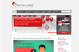 Optiflows lève 900 000 euros pour lancer à l'international sa plate-forme de connectivité