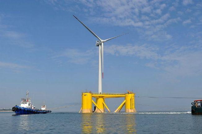 éolienne offshore flottante