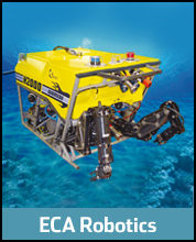 ECA Robotics : drone tout-terrain