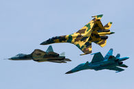 L'offensive russe au Bourget