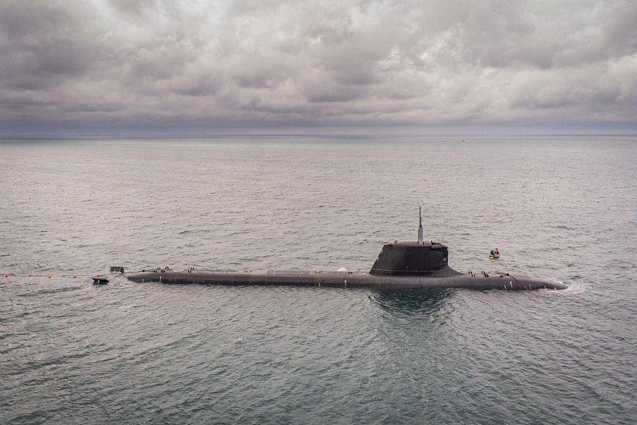 [En images] Première plongée en haute-mer pour le sous-marin nucléaire d'attaque Suffren