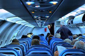 A bord d'un avion
