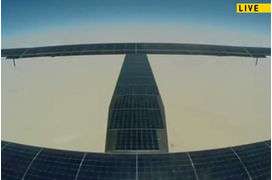 [VIDEO] Solar Impulse 2 atterrit à Abou Dhabi et boucle son tour du monde