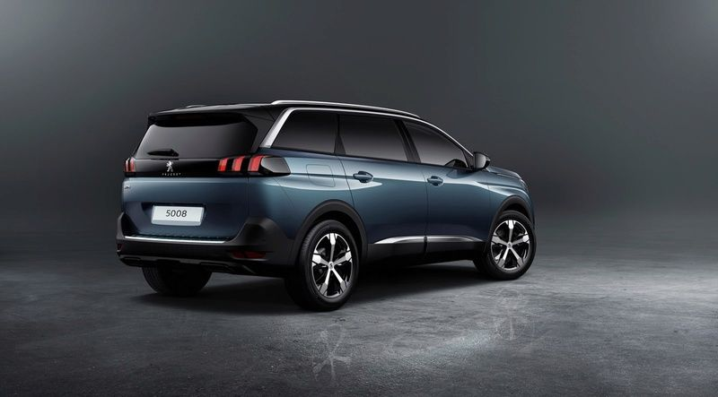 de nouvelles photos de la peugeot 5008 ii le suv de peugeot l 39 usine auto. Black Bedroom Furniture Sets. Home Design Ideas