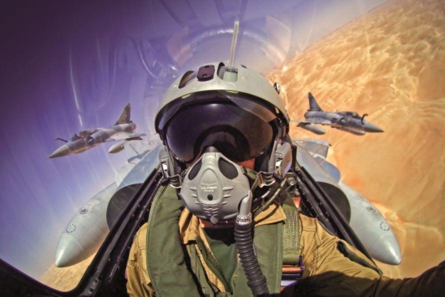 Exceptionnel Ulmer Aéronautique innove dans les masques pour pilotes de chasse  DE83