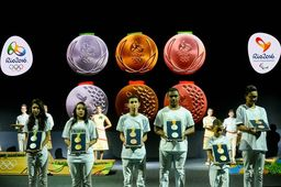Médailles olympiques Rio 2016