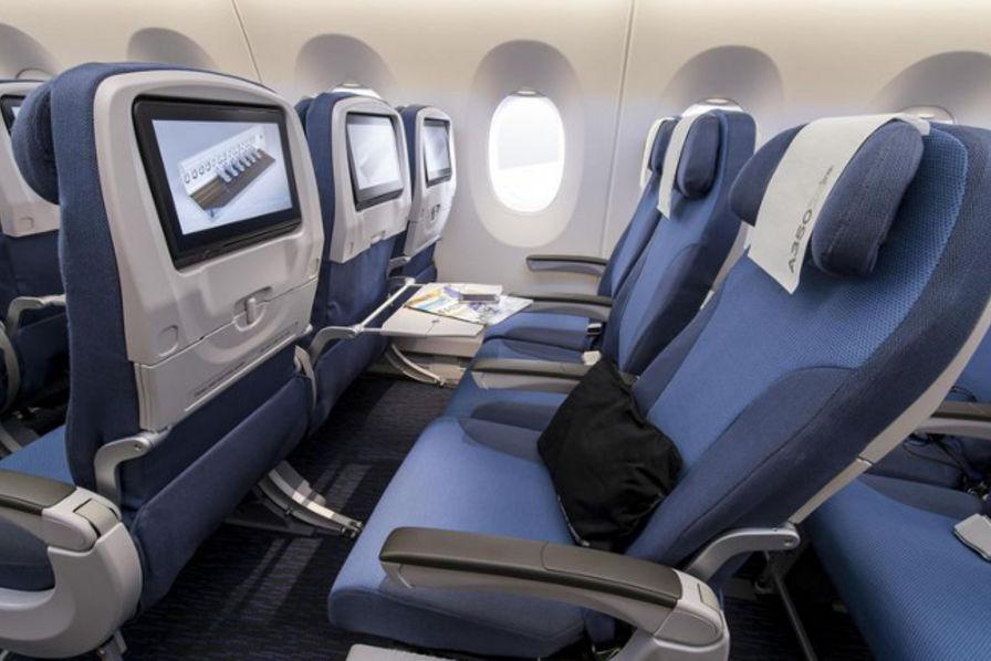 Vid o d couvrez le design int rieur de l 39 airbus a350 l - Transat d interieur ...