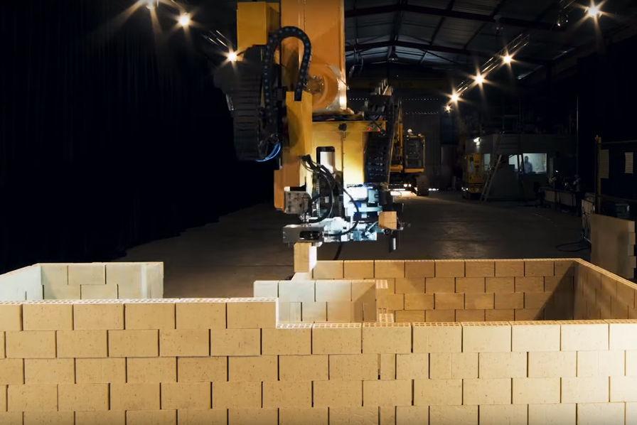 Hadrian X, le robot qui construit une maison en deux jours