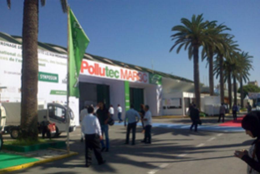 La france en force au salon pollutec maroc 2015 de for Salon du batiment casablanca