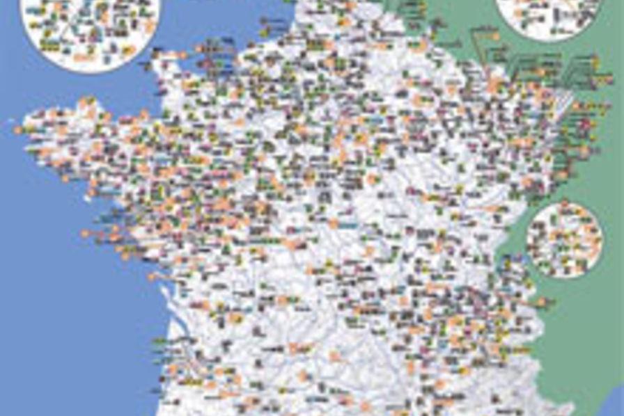 Les 1 000 premi res usines de france en 2008 quotidien des usines - Usine imerys en france ...