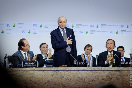 La ratification de l'accord de Paris marque le début du travail post COP21