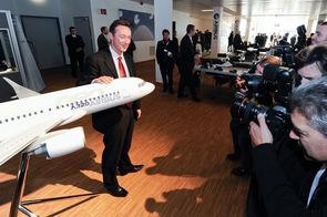 Fabrice Brégier, président exécutif Airbus