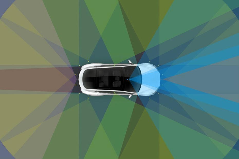 Un système de conduite autonome pour toutes les voitures Tesla. dans - Véhicules autonomes connectés. 000484567_illustration_large