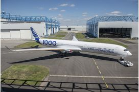 [Direct] Le premier vol de l'Airbus A350-1000