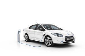 Renaut Fluence, la première voiture électrique commercialisée