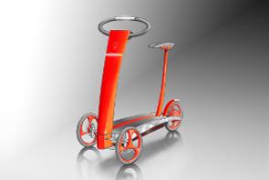 freeway la trottinette lectrique trois roues. Black Bedroom Furniture Sets. Home Design Ideas