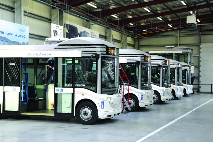 Un bus articul lectrique bollor pour rennes transport - Bus lyon nancy ...