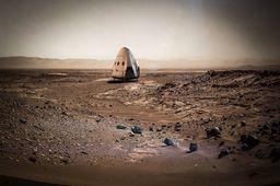Dragon sur Mars