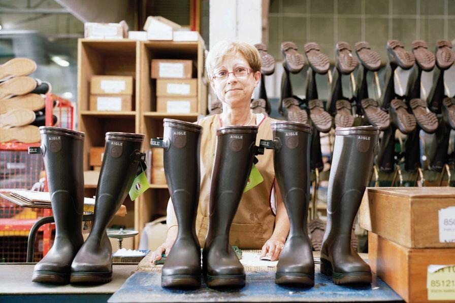 En De Obtient France Unique Fabricant Origine Label Le Bottes Aigle xtqRwg