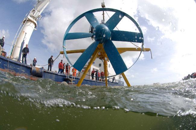 Le développement de l'Hydrolien