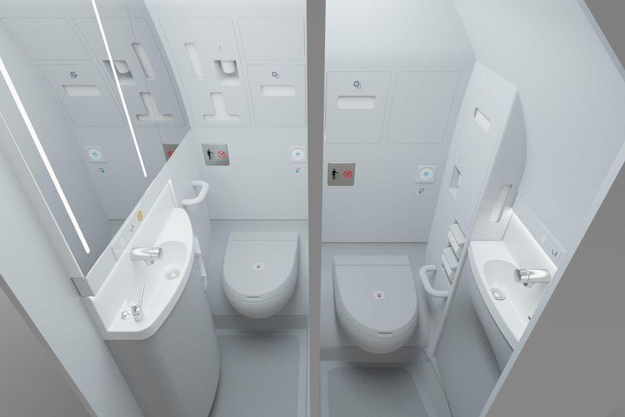 Vidéo] Comment fonctionnent les toilettes d\'avion ? - L\'Usine Aéro