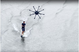 [L'industrie c'est fou] Le drone surfing ou comment surfer sans vague, ni vent