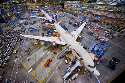 Boeing continue d'investir en masse dans la production du 787 Dreamliner