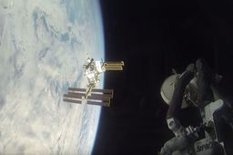 En images : le vol du Soyouz vers la Station spatiale internationale