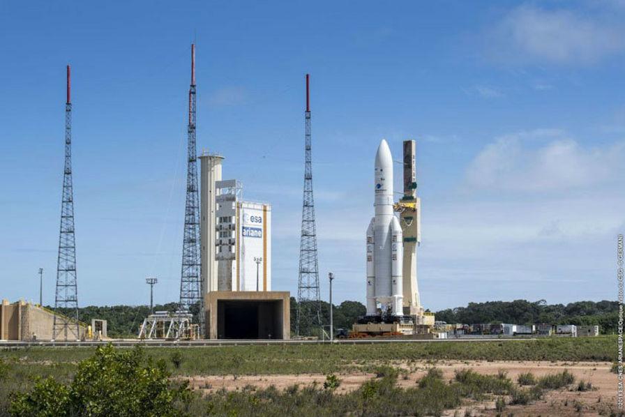 Ariane 5 : gros stress pour le premier lancement de l'année