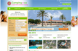 Camping and Co digitalise la réservation de campings