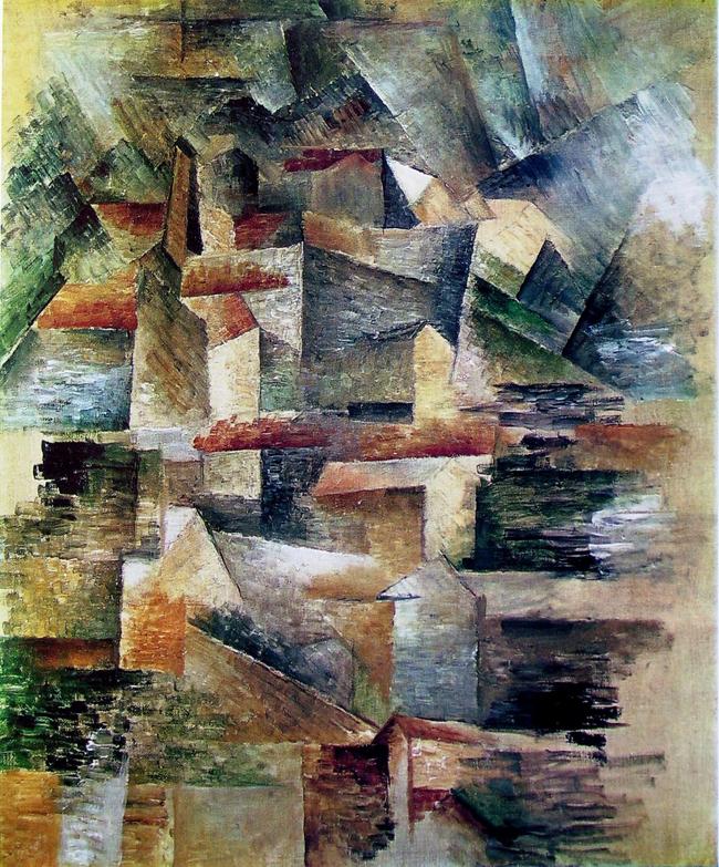 L industrie sujet d exp rimentation du peintre georges for Braque peintre