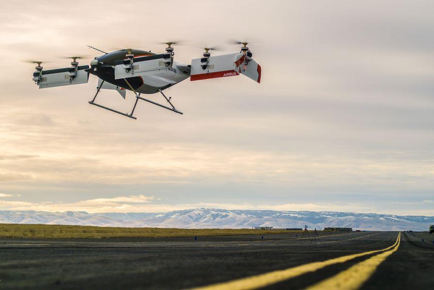 Le taxi drone d'Airbus réussit son premier vol
