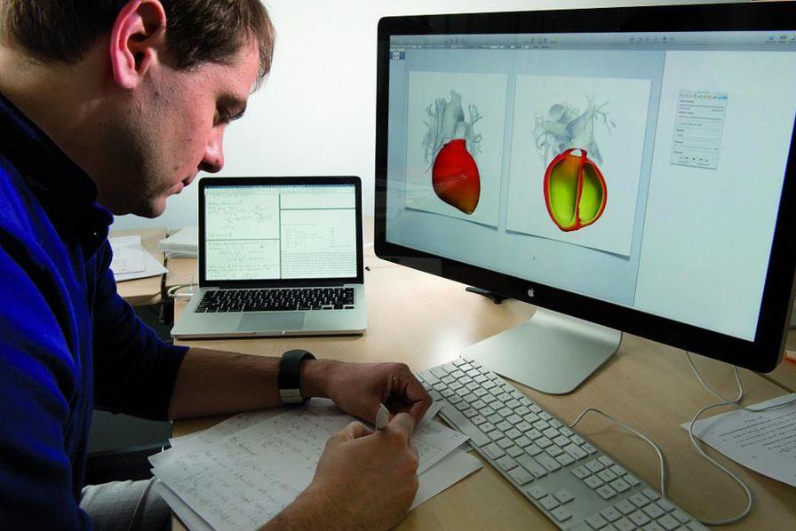 Un cœur qui bat en numérique La simulation ...