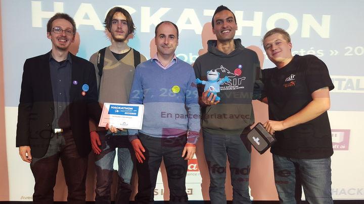 Hackathon des objets connectés : et les gagnants sont...